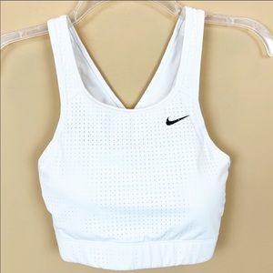 Nike crisscross perforated sports bra